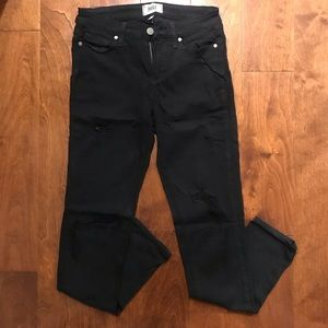 ‼️NEW LISTING‼️ Ripped Paige Black Jeans